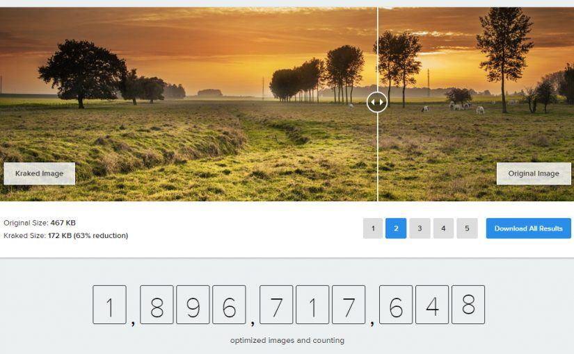 Kraken.io – komprese obrázků pro WordPress v cloudu